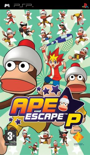 Ape Escape P : On the Loose
