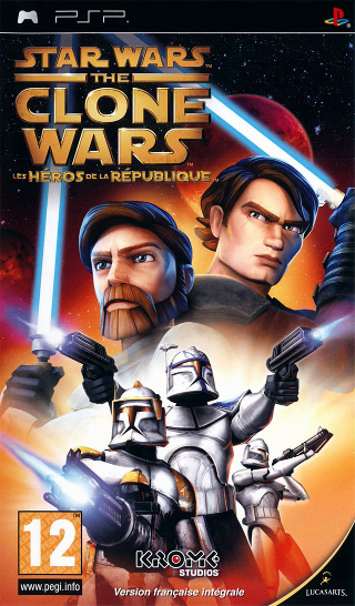 Star Wars The Clone Wars : Les Héros de la République