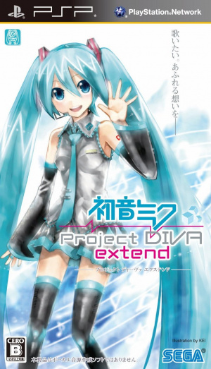 Hatsune Miku : Project Diva Extend [Patch FR]